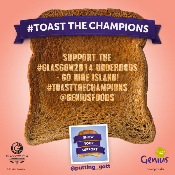 Genius Gluten Free #ToastTheChampions of the Commonwealth Games