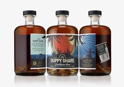 B&B Designs New Rum Branding