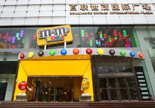M&M's World Celebrates Grand Opening in Shanghai