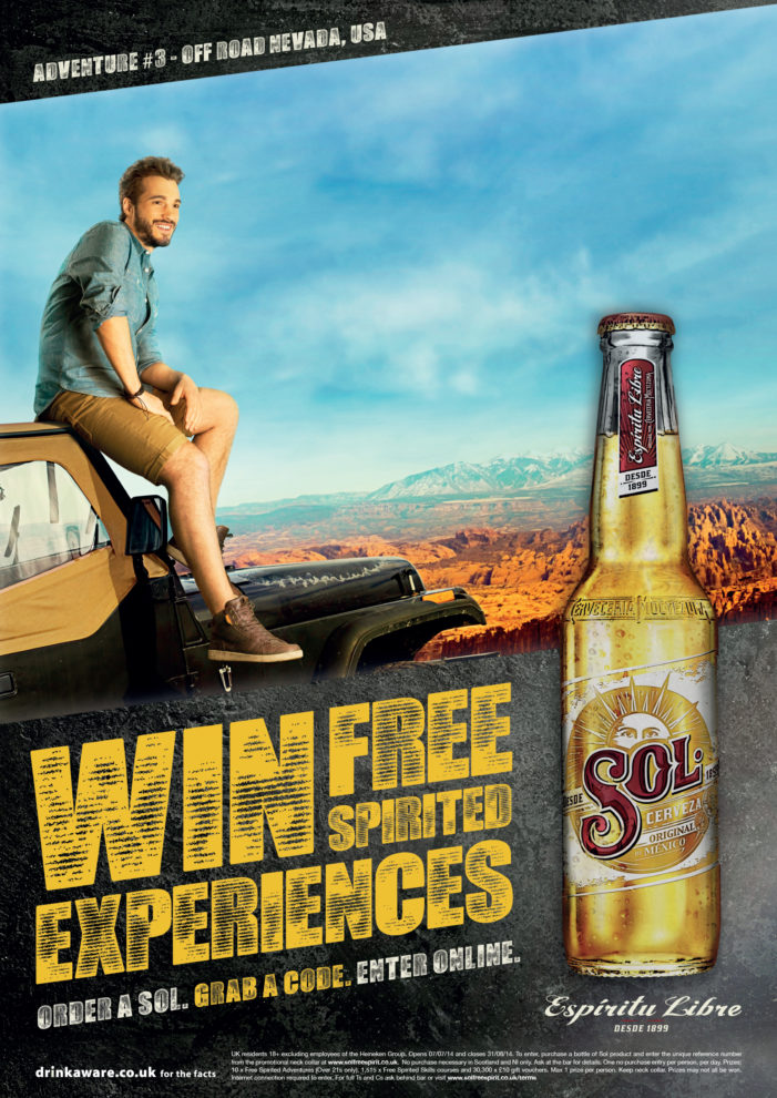 Space Helps Sol Drive Sales & Brand Re-Engagement Through In-bar Promotion