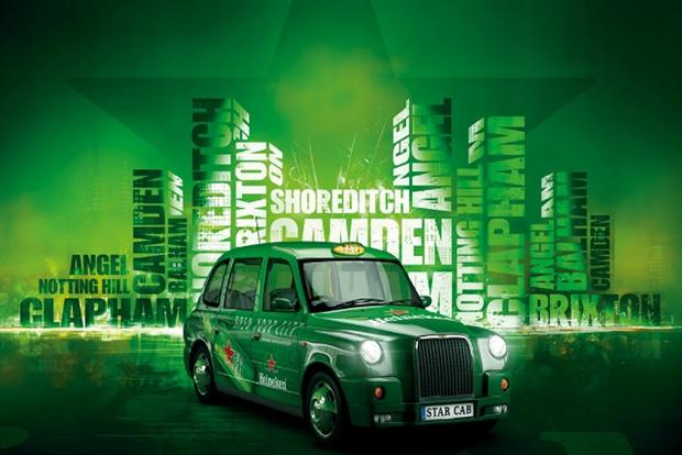 Heineken Star Cabs Competition Offers Drinkers Free London Taxi Rides