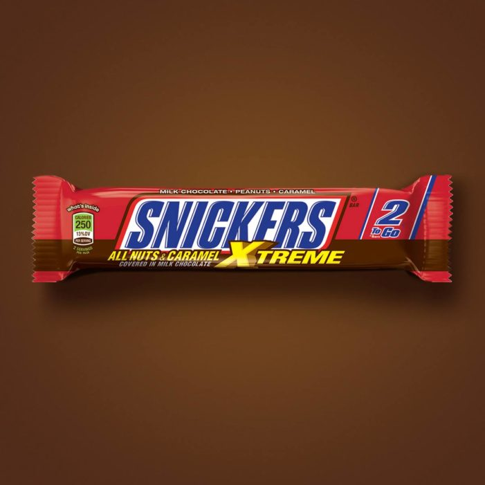 And The Name Of The Newest Snickers Bar Is…