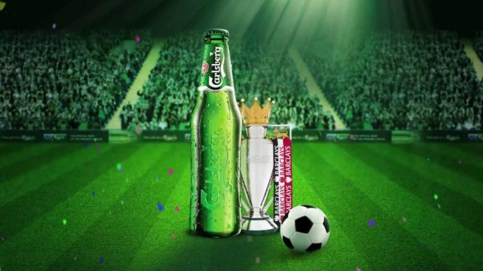 Carlsberg celebrates Barclays Premier League Partnership with 'Take Your Seats' Film