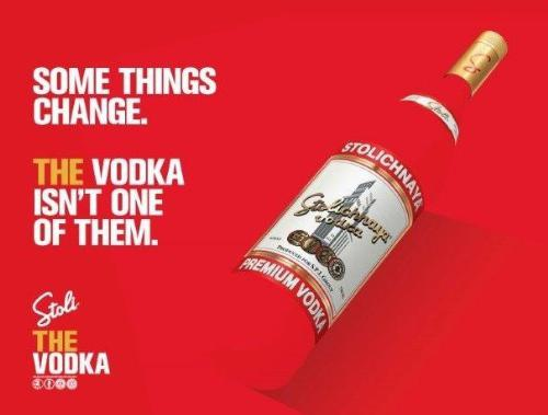 """Stoli Claims its Position as """"THE Vodka"""" & Launches New National Campaign"""