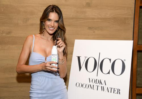 VO|CO Name Supermodel Alessandra Ambrosio Official Spokesperson