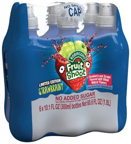 """Robinsons Fruit Shoot Introduces New """"Strawbrainy"""" Flavour in U.S."""