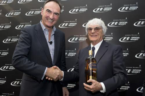 Johnnie Walker Becomes the Official Whisky of Formula One
