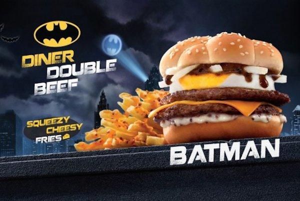 McDonald's Hong Kong Releases The 'Batman Burger'