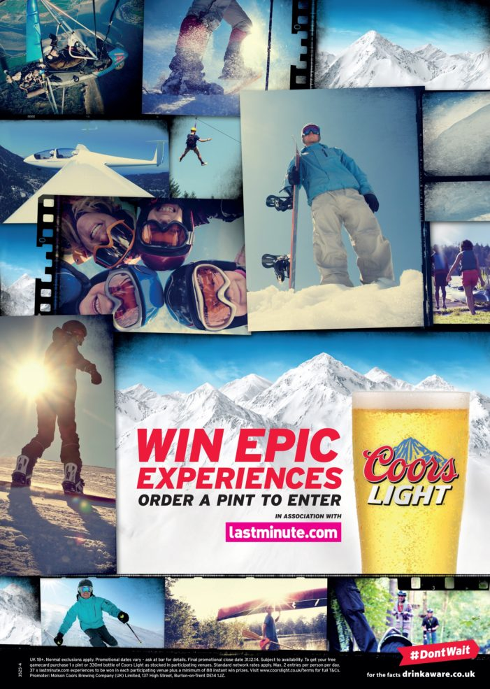 LIFE Teams Coors Light & Lastminute.com for Major On-trade Push