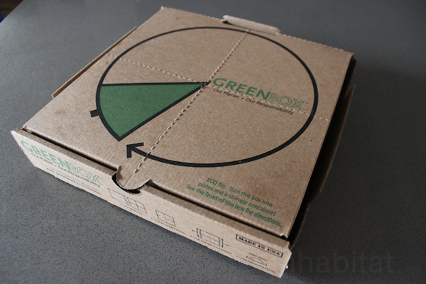 The 'World's Smartest Pizza Box' Turns Into Plates & A Left-Over Container