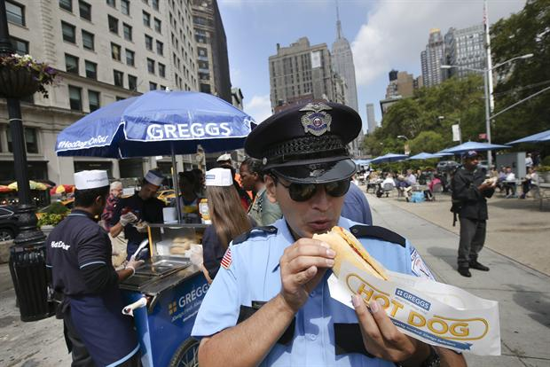 Greggs Dishes Out Hot Dogs to New Yorkers in Cheeky Stunt
