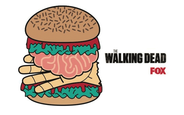 'Human Burgers' To Be Given Away For 'The Walking Dead' Premiere