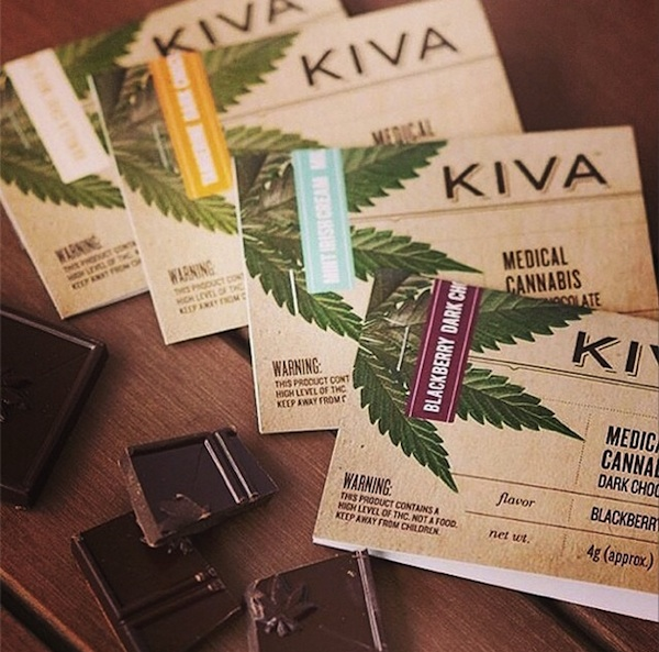 A Confectionery That Sells Marijuana-Laced Chocolate Bars