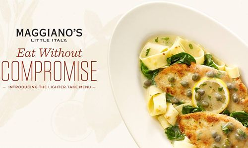 Maggiano's 'Lighter Take' On Classic, Italian Dishes Keeps The Portion & Flavour