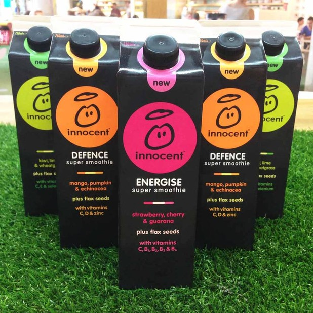 innocent Super Smoothies Now Found in Take Home Cartons
