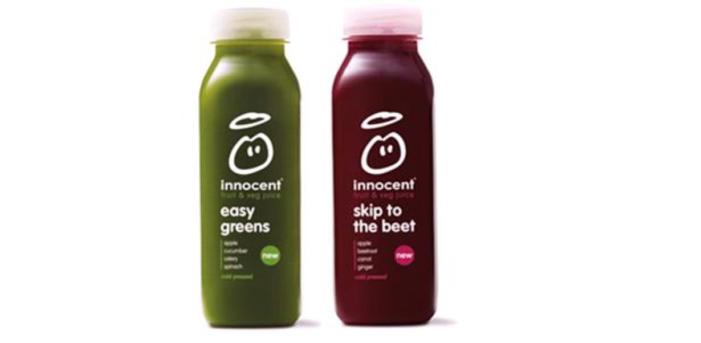 A Veggie Venture: innocent 'Introjuice' A New Range Of Fruit & Veg Drinks