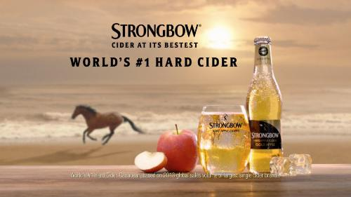 Strongbow Hard Apple Cider Launches First and Bestest TV Spot