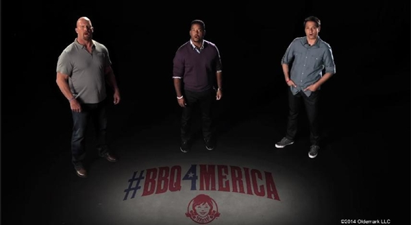 Celebrities Campaign To Fight 'BBQ Inaccessibility' In Wendy's Ad