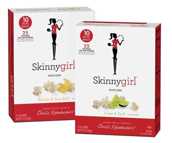 Skinnygirl & Orville Redenbacher's Partner for Debut of New Skinnygirl Popcorn