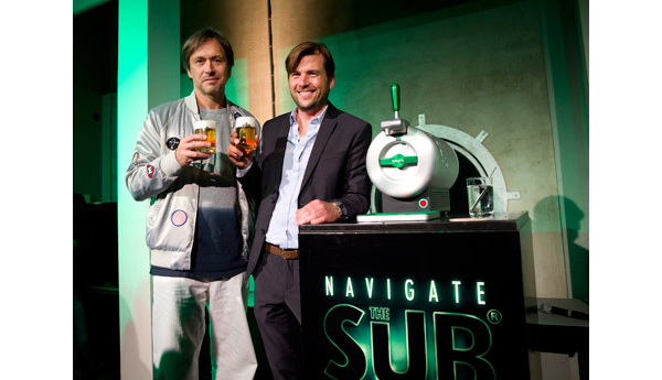 Marc Newson's New Draft Beer Machine Lets You Enjoy A Cool Pint At Home