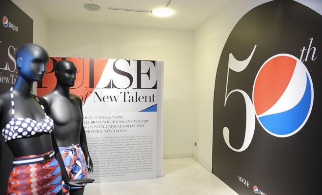 Pepsi & Vogue Italia Showcase 'Pulse Of New Talent' Collection