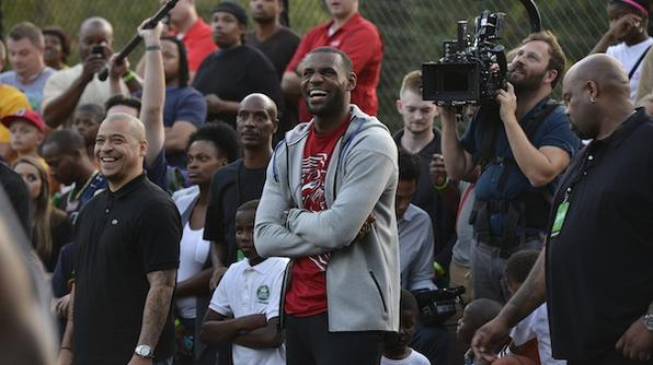 Sprite Marks LeBron's Homecoming With New Video Exhibiting His 'First Home Game'