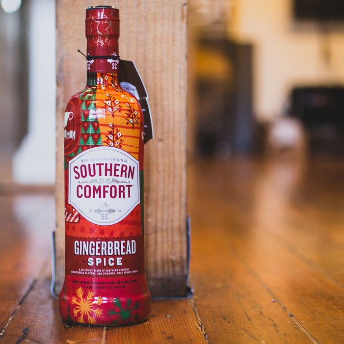 Southern Comfort Releases New Holiday Gingerbread Spice