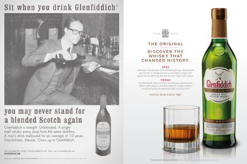 Glenfiddich Introduces 'The Original' Whisky