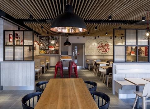 KFC Unveils Radical New Interior Designs In UK