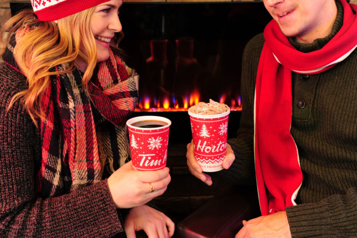 Tim Hortons #WarmWishes Holiday Cup Double Doubles the Warmth