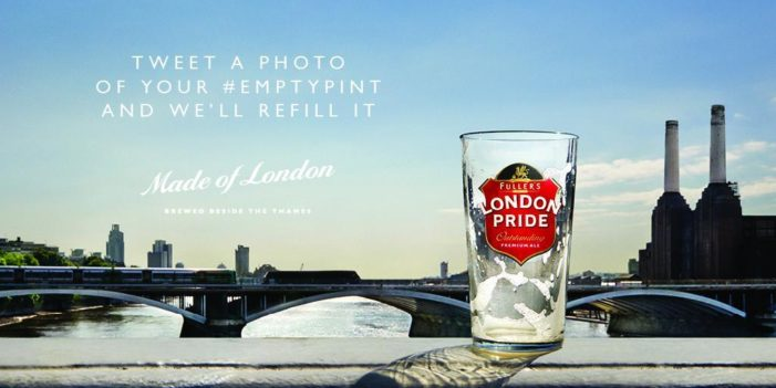 The Corner is Filling #EmptyPints with a London Pride Social Campaign