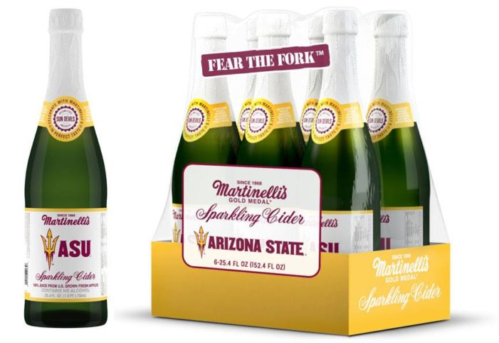 Martinelli's Releases Arizona State Commemorative Label Sparkling Cider