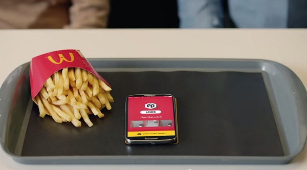McDonald's Security App Will Protect Your French Fries From Thieving Hands