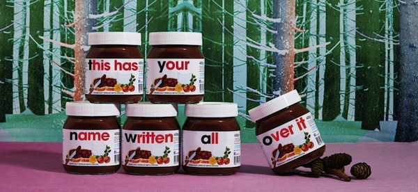You Can Now Have A Personalized Jar Of Nutella With Your Name On It
