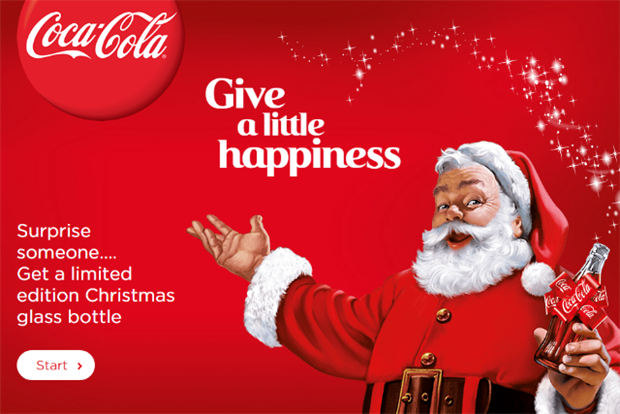 Coca-Cola Encourages 'Acts of Kindness' at Christmas
