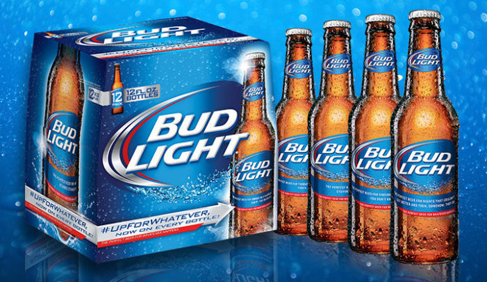 """Bud Light Introduces Bottle That Inspires Consumers To Be Truly """"Up For Whatever"""""""