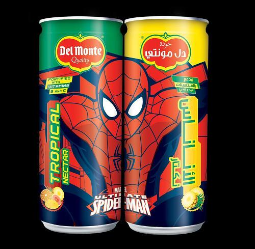 Del Monte Launches New Minnie Mouse & Spiderman Branded Kids Nectars