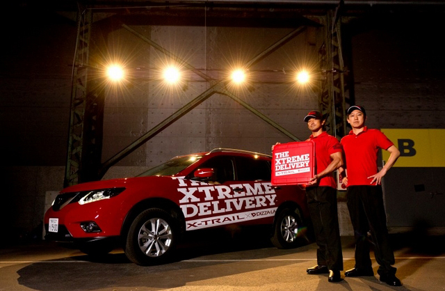 TBWA Takes Good Delivery Service To The Limit For Nissan X-TRAIL