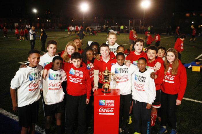Coca‑Cola & Brian O'Driscoll Surprise East London Teens