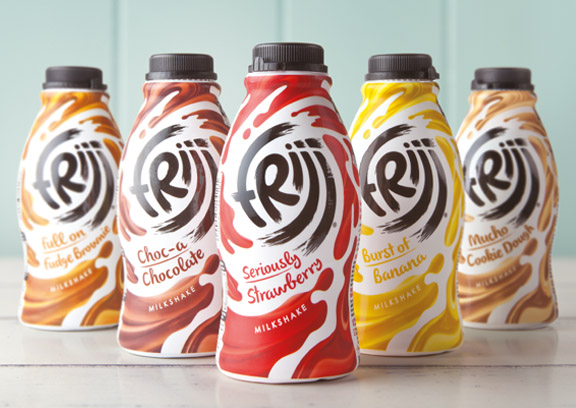 BrandOpus Redesign of FRijj Swirls Onto Shelf