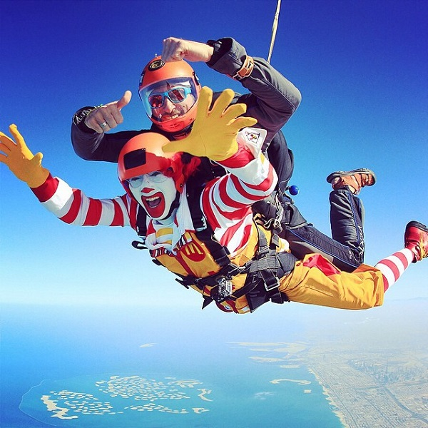 Ronald McDonald Joins Instagram, Reveals Adventurous Side Of His Personality