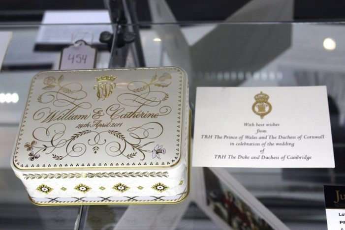 Slice of Prince William's & Kate Middleton's Wedding Cake Sells for $6,000 at Auction