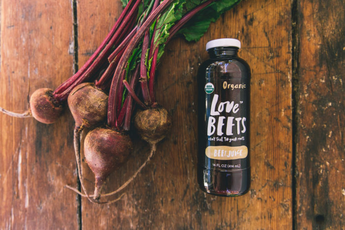 Love Beets Launches New Organic Beet Juice