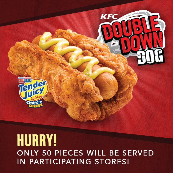 KFC Debuts A Fried Chicken-Wrapped Hot Dog