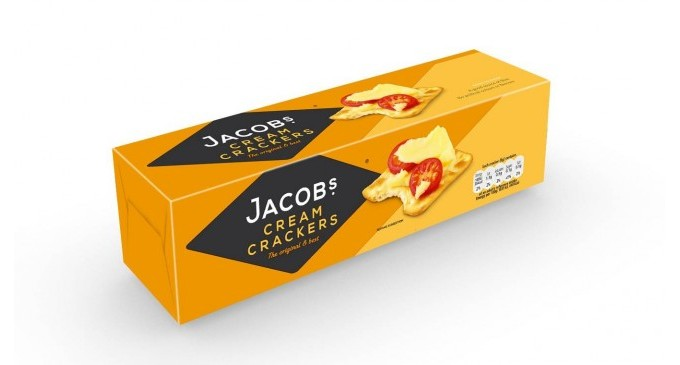 Biscuit Brand Jacob's Launches New Logo & Packaging