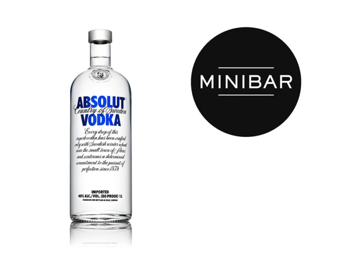 Minibar Launches Collaboration with Absolut Vodka