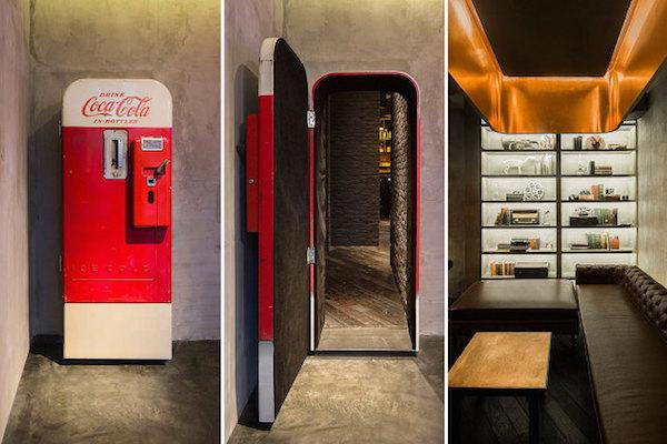 Secret Speakeasy Hidden Behind a Vending Machine in a Sandwich Shop