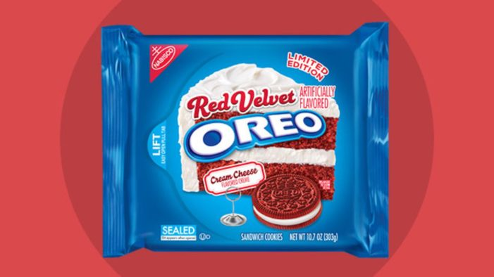 Oreo Releases Limited Edition 'Red Velvet' Flavour For Valentine's Day