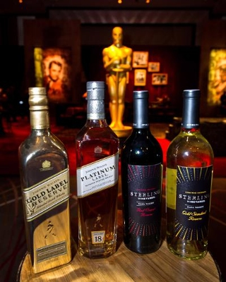 Diageo Luxury Brands Again Star at the Bar on Oscar Night