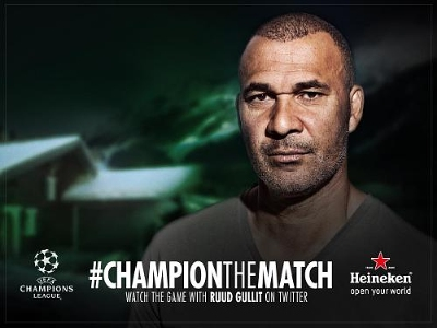 Heineken Brings US Soccer Fans Closer to the Game with UEFA Champions League Campaign